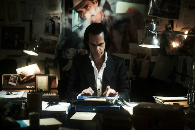 "Nick Cave & The Bad Seeds New Single from 20,000 Days on Earth ""Give Us A Kiss"" / ""Jubilee Street"""