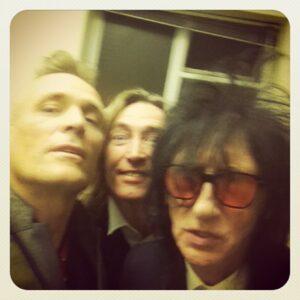 John Robb meets the poets!  Mike Garry and John Cooper Clarke