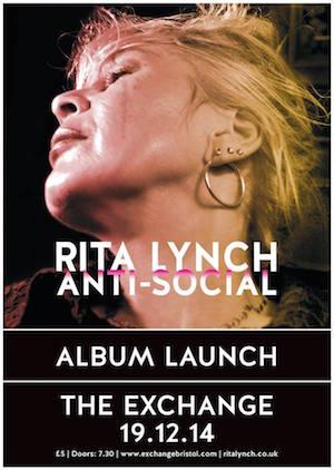 Video Premiere: Rita Lynch – Heart Of God – brilliant new video from Bristolian rock hero who's regularly compared to PJ Harvey