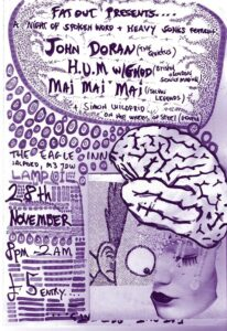 Great looking night of heavy electronics and spoken word in Salford with the Quietus and G.N.O.D.