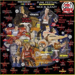 Nice 'n' Sleazy Punk Festival In Morecambe Announce Bill