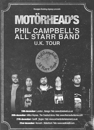 Louder Than War Interview: Phil Campbell of Motorhead