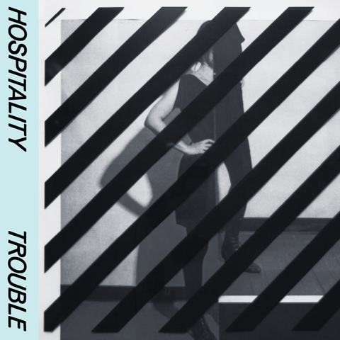 Hospitality Trouble album cover artwork 2014