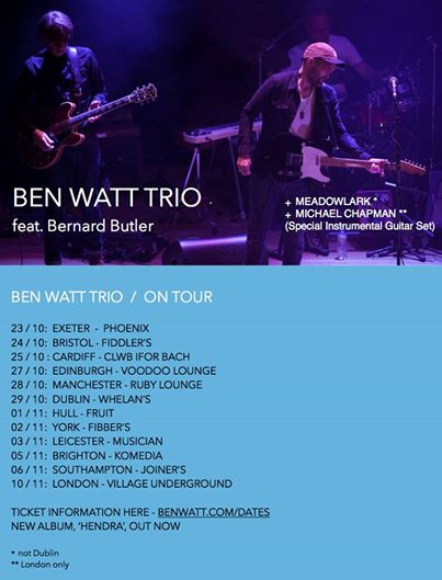 Ben Watt Trio: Phoenix Exeter – live review