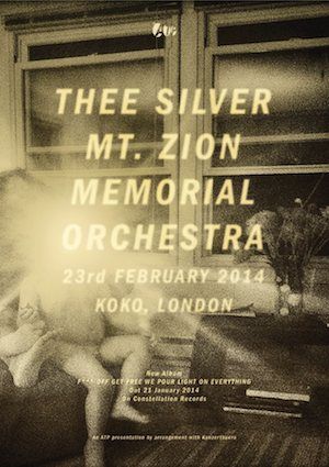 Thee Silver Mt. Zion Memorial Orchestra: Koko, London – live review