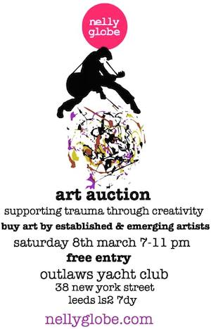 Preview: Nelly Globe Art Auction. March 8th. Outlaws. Leeds