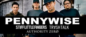 Pennywise | Stiff Little Fingers | Trash Talk | Authority Zero: The Corner Hotel, Melbourne – live review