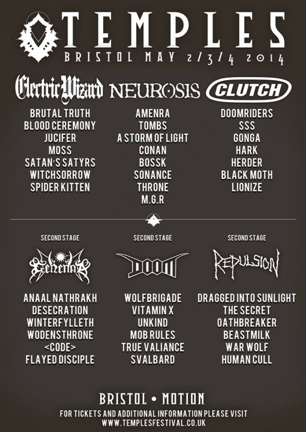 Temples Festival: Weekend tickets for inaugural edition of monstrous heavy music festival sell out