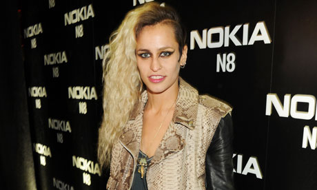 Alice Dellal sports the posh punk look, apparently