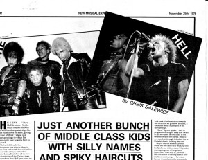 Pure Hell –  an interview with the legendary US punks