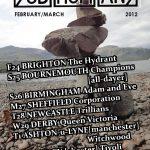 Subhumans tour poster