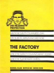 Factory Records exhibition needs your help…