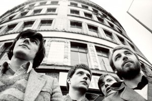 Joy Division in town in the late 70s hiding master tapes