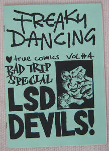 Freaky Dancing- the key Manchester fanzine of its times
