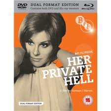 Her Private Hell : Her Private Hell was the UK's first narrative sex film, although the carnal activity depicted on screen is very chased indeed.
