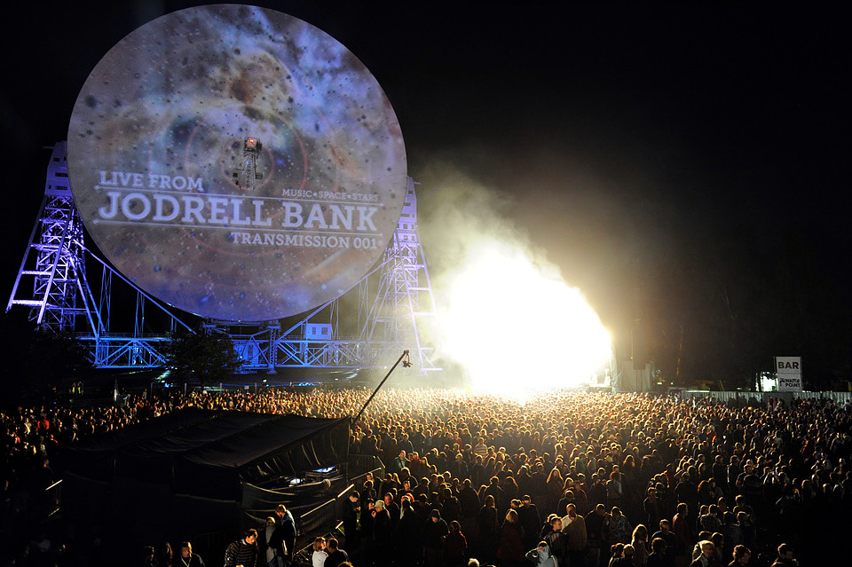 space is the place : headliners announced for Jodrell bank festival
