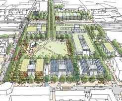 Green with envy? the proposed new building site in Hulme