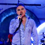 sweaty Moz gives everything...
