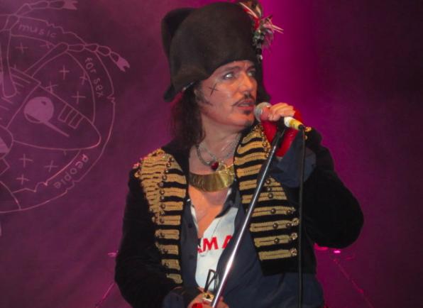 Adam Ant, Astor Theatre, Perth, Australia 1 April 2012