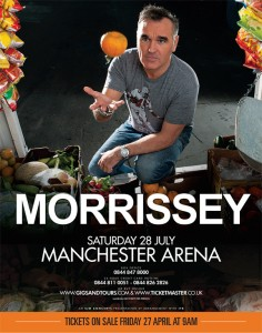 Is Morrissey at the Manchester Arena the biggest gig by an unsigned artist EVER?