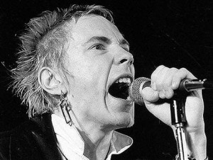 Publisher signs new autobiography by Sex Pistols singer Johnny Rotten (real name John Lydon).