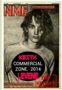 Keith Levene announces pledge to finally release the long lost Public Image 'Commercial Zone'