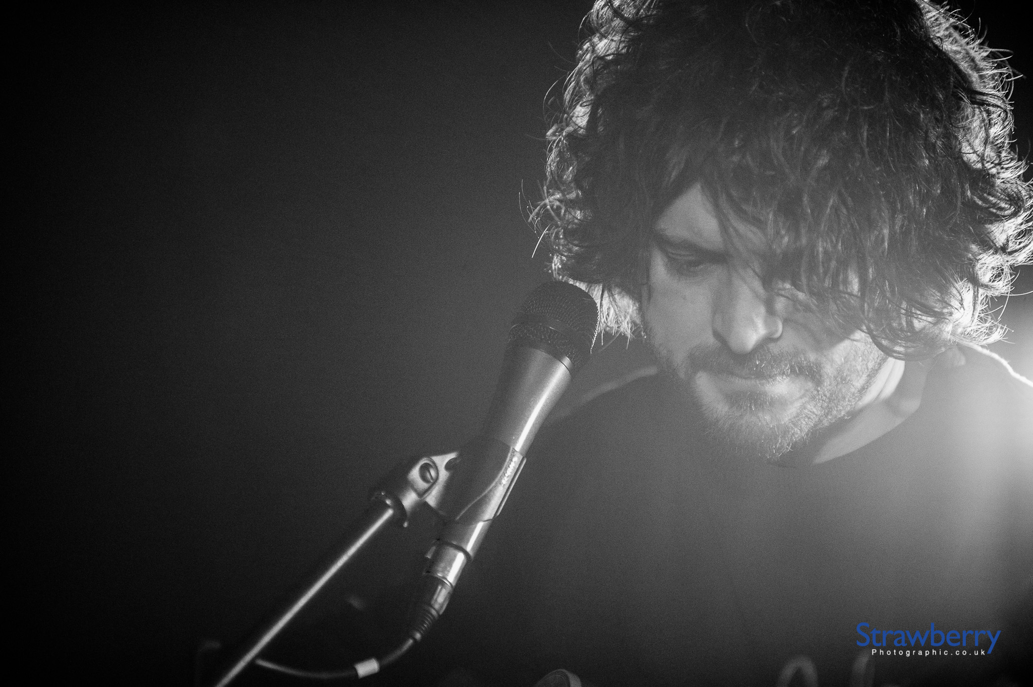 Chris Helme on stage
