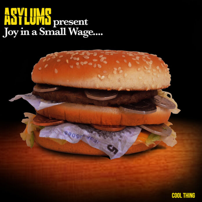Asylums Cover Art For Joy In A Small Wage