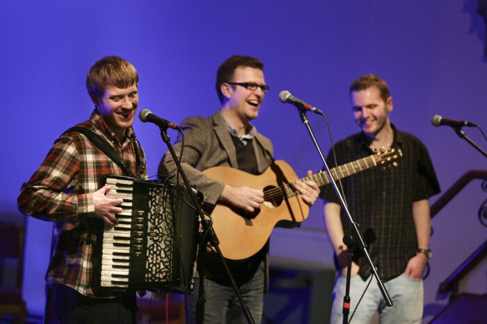 interview: the young'uns - fresh from their folk awards triumph