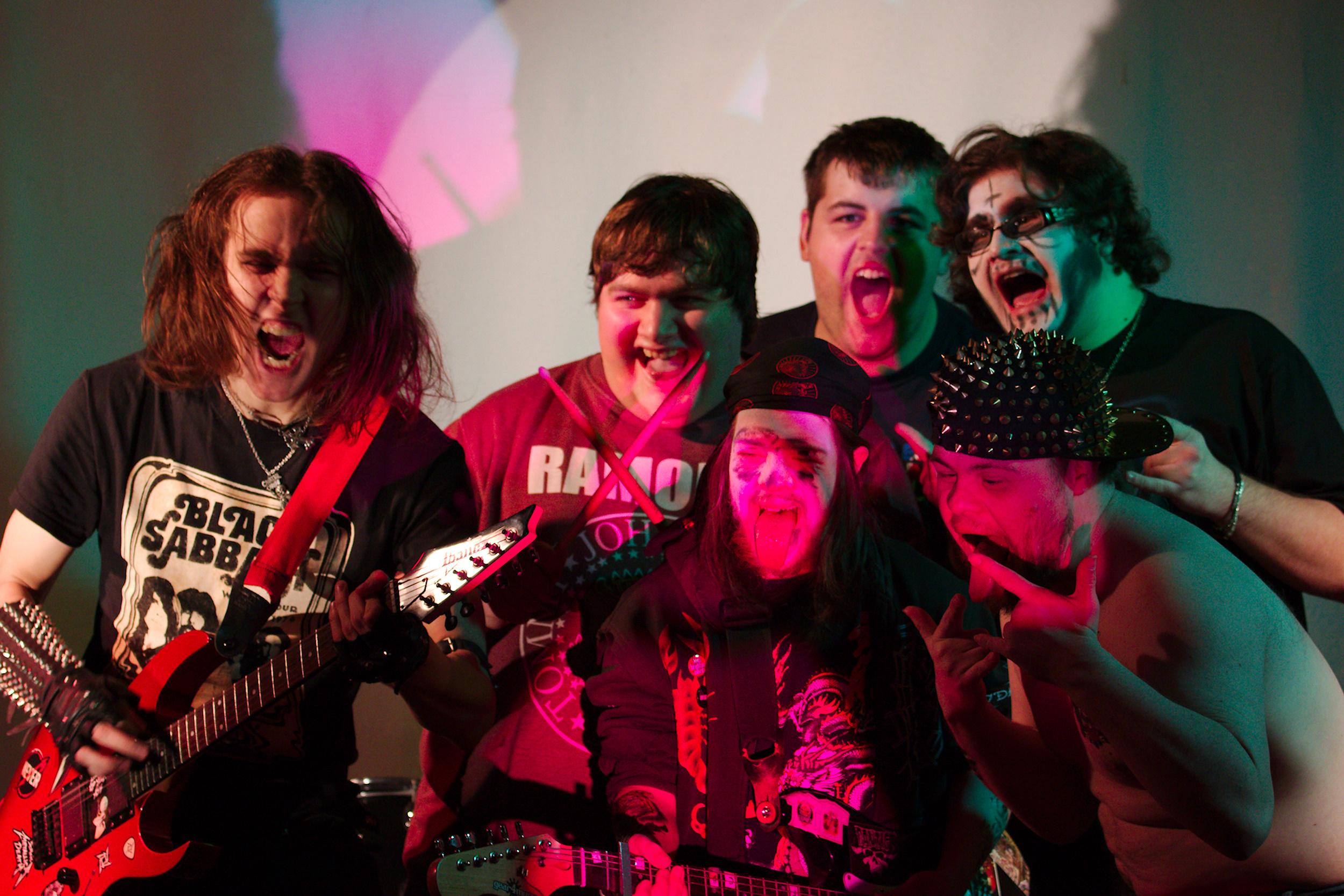 watch this zombie crash the learning disability metal band release new video in which they. Black Bedroom Furniture Sets. Home Design Ideas