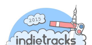Indietracks 2015 logo