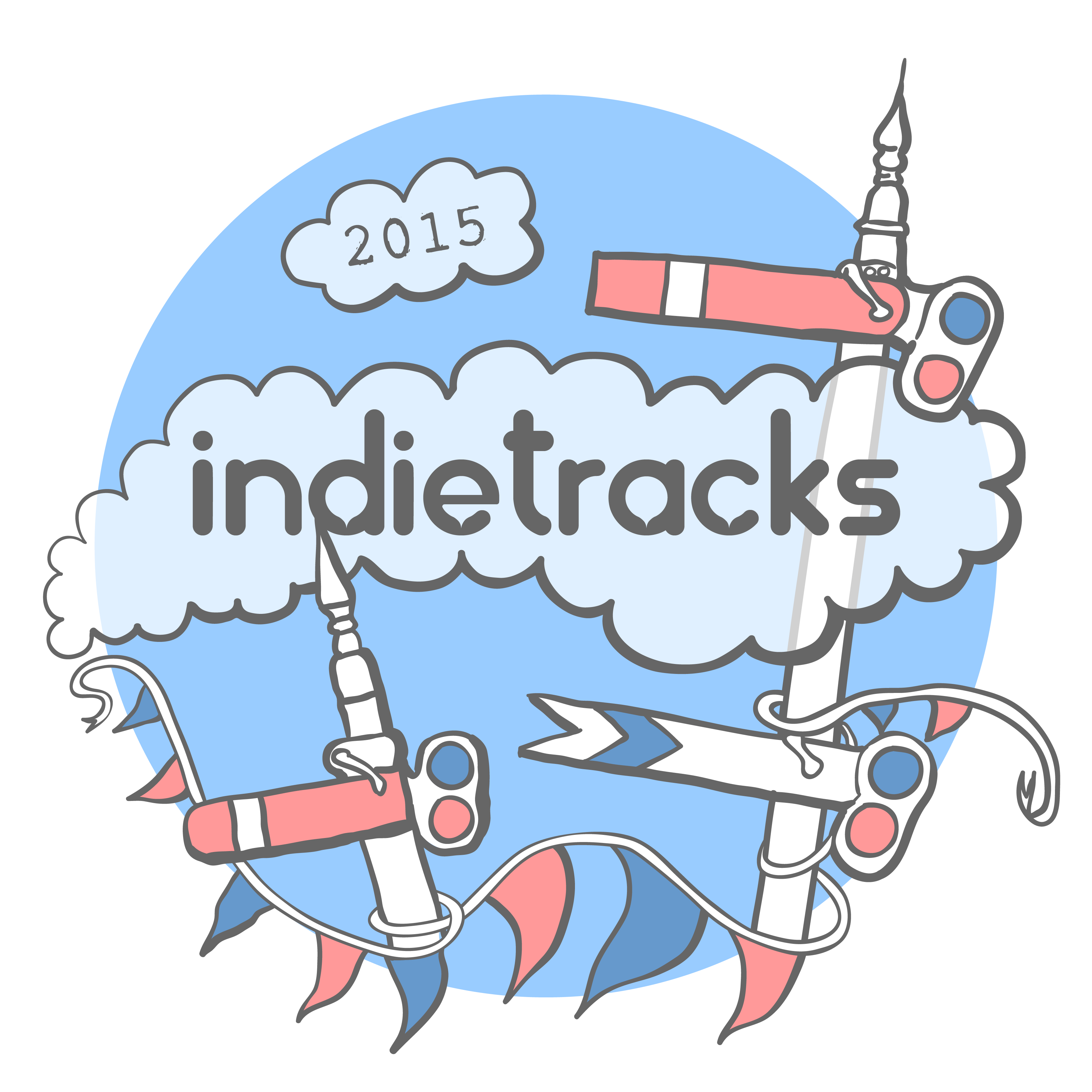 Indietracks 2015 logo