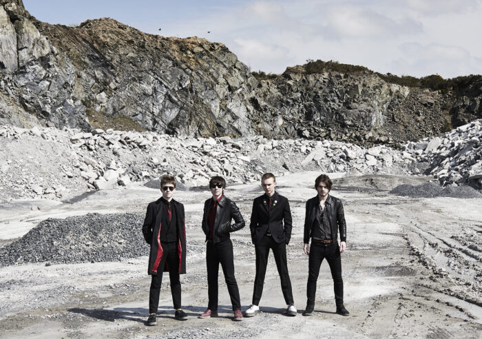 The Strypes press shoot for Universal music