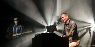 Belle and Sebastian live at the Corn Exchange in Cambridge on 7 May, 2015