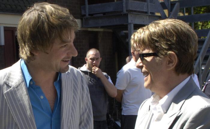 Clifford Slapper and David Bowie 1.5M