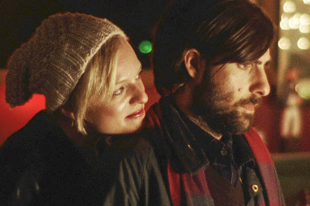 Elisabeth Moss and Jason Schwartzman in Listen Up Philip