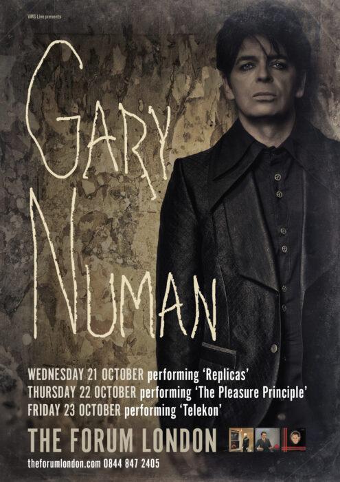 GARY NUMAN TO PLAY THREE NIGHT RESIDENCY AT LONDONS FORUM CELEBRATING THREE CLASSIC ALBUMS (1)