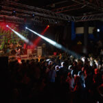 Pulled Apart By Horses on stage at Leeds University Stylus