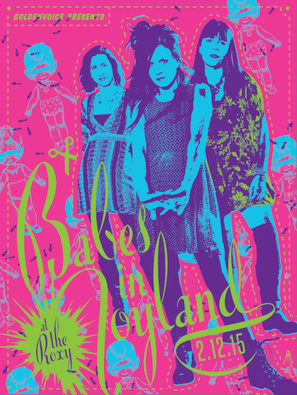 babes in toland roxy poster