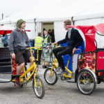 Rickshaws at Sound City 2015