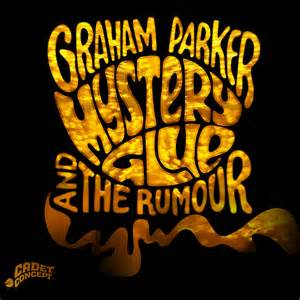The album cover of Graham Parker's Mystery Glue