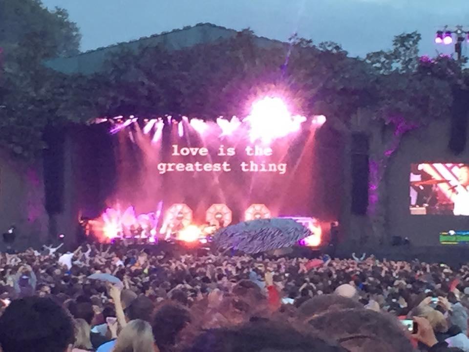 Blur at Hyde Park 2015