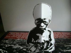 Split EP pop up starving child