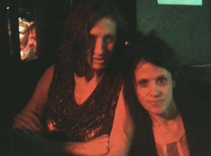 Maureen Herman and Kat Bjelland