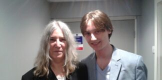 Patti Smith and James Nuttall