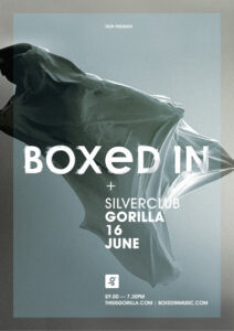 Boxed In Gorilla Web Poster