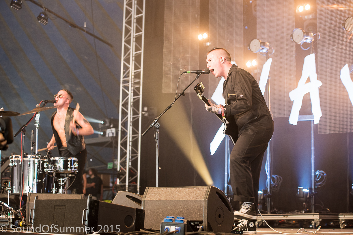 Slaves Glastonbury John Peel Stage