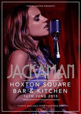 Lynne Jackaman Tour Poster