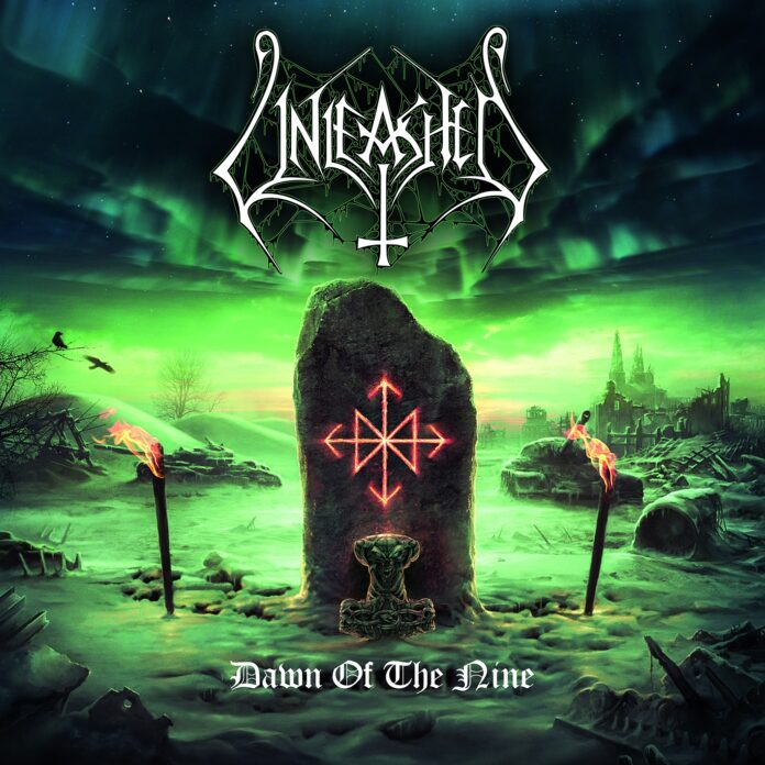 Unleashed - Dawn Of The Nine - Artwork