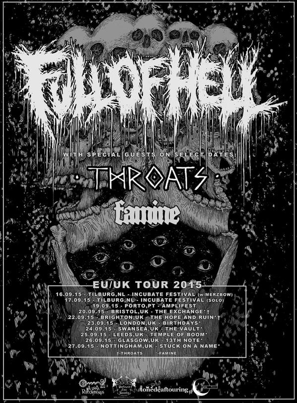full of hell tour poster